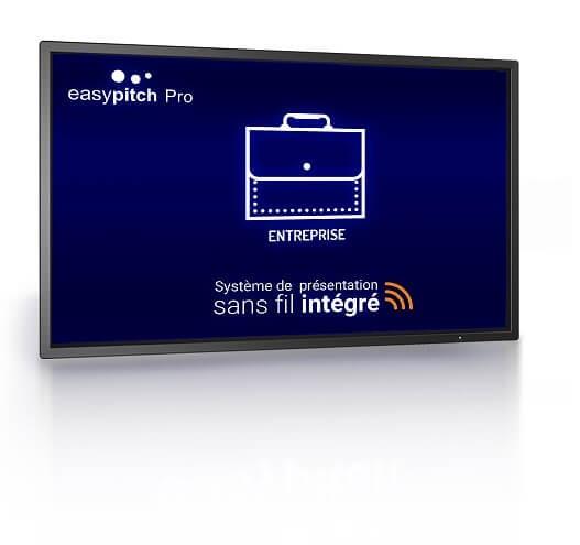 EASYPITCH PRO 86''  4K - Système de présentation sans fil intégré