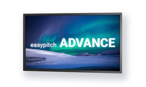 "Easypitch Advance 75"" 4K"
