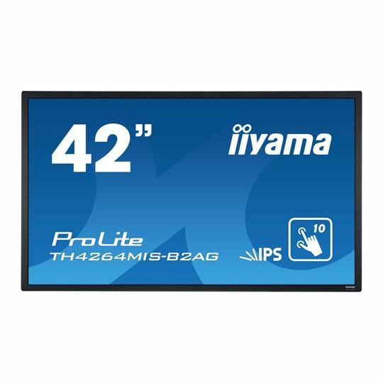 "Ecran interactif Iiyama 42.5"". Support mural inclus."