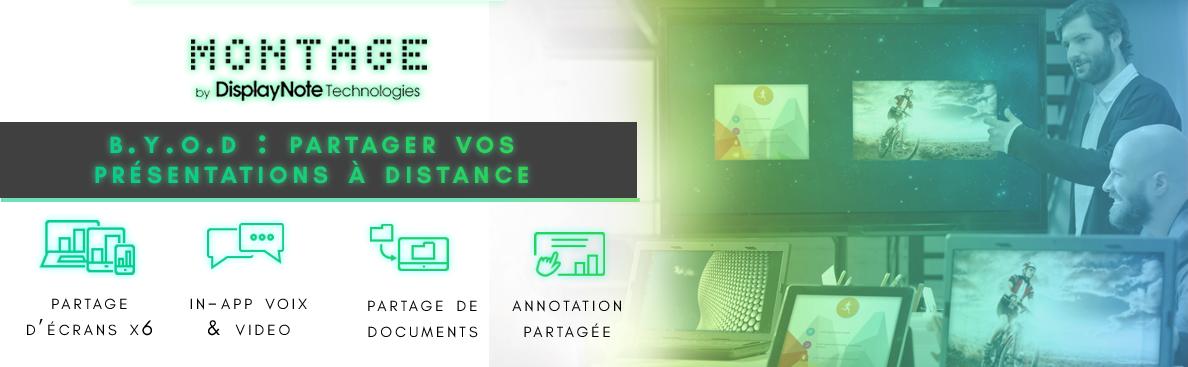 Boîtier BYOD Montage