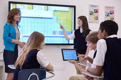 Les écrans interactifs Promethean sont spécialisés pour l'éducation