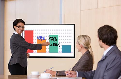 Les écrans interactifs tactiles de Easypitch sont parfait pour vos réunions