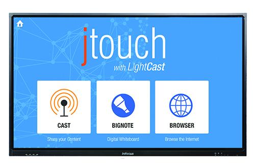 Le JTouch d'InFocus permet de cloner son écran d'ordinateur