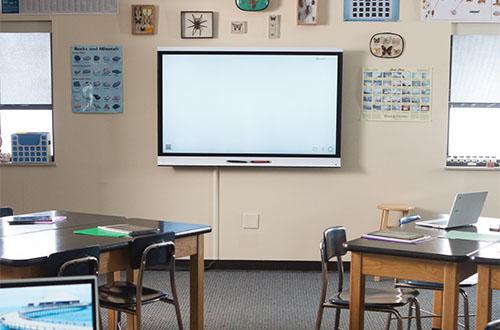La pédagogie scolaire avec les écrans interactifs