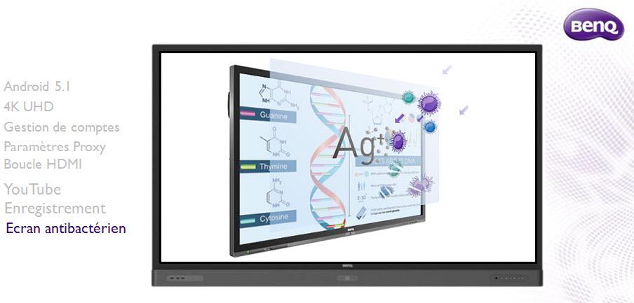 Ecrans interactifs serie RP BenQ