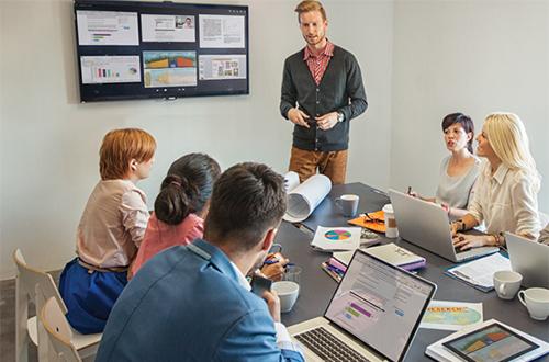 Améliorez vos réunions avec le boîtier BYOD Montage et ses fonctionnalités