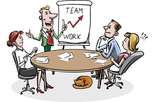 Le brainstorming est l'échange d'idées sans contraintes