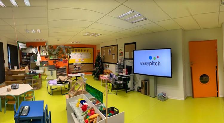 ecran interactif education