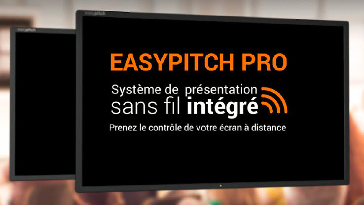 Ecran interactif tactile Easypitch Pro