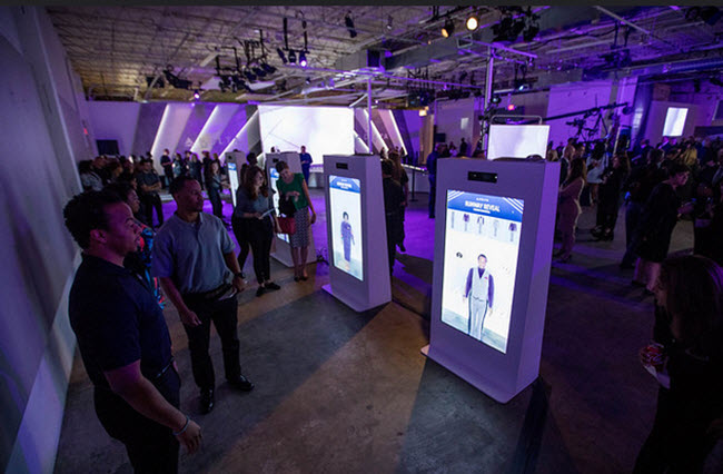 ecran interactif salon evenement