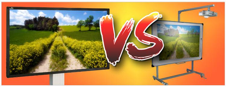 ecran interactif vs tableau interactif