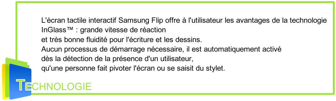 samsung Flip Technologies