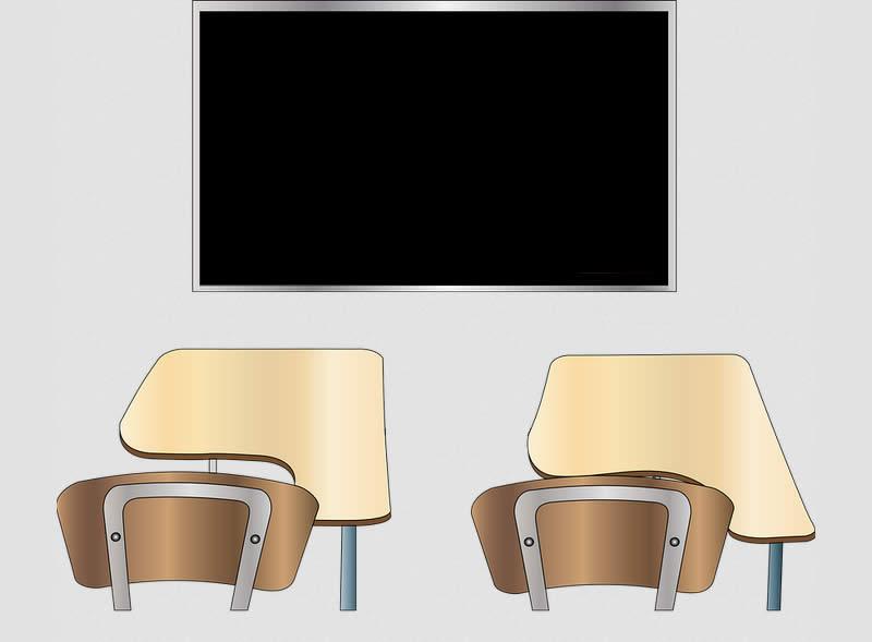 écran numérique salle de classe