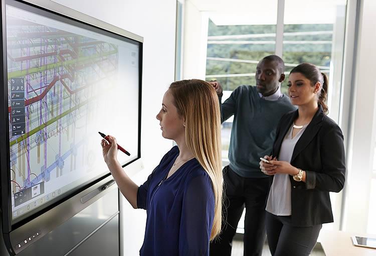 ecran interactif, developpement stratégie