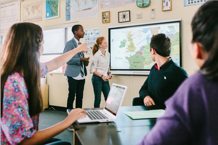 Utilisation ecran interactif en classe